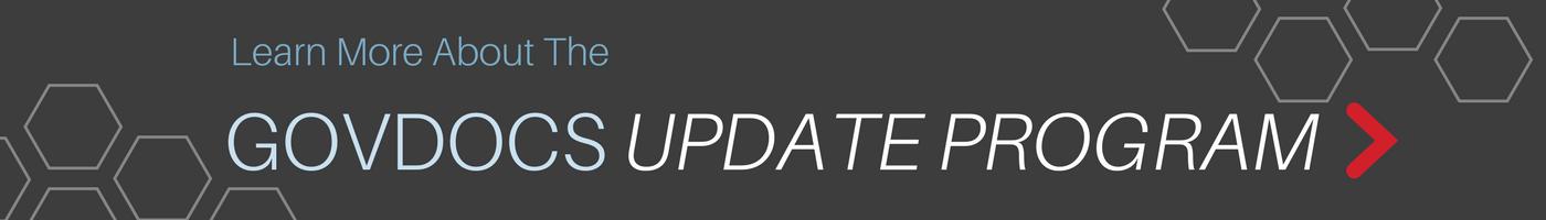GovDocs Update Program