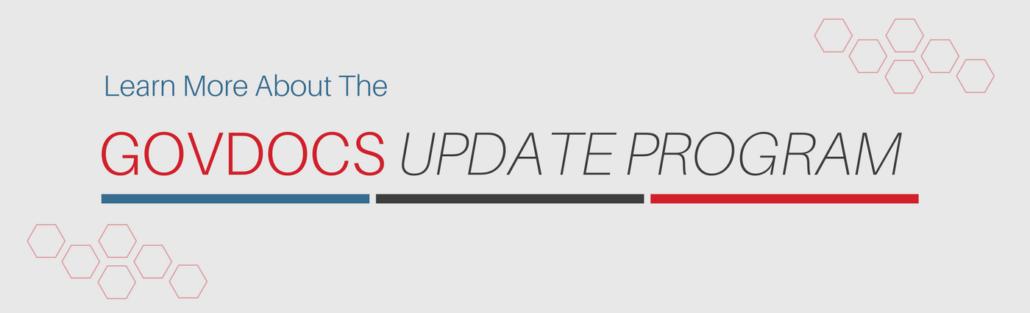 GovDocs Update Program CTA