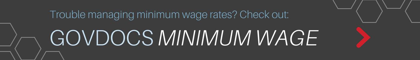 GovDocs Minimum Wage