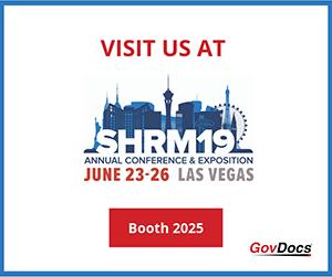 Visit GovDocs at SHRM 2019
