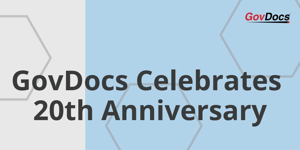 GovDocs 20 Year Anniversary spring 2019