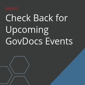 GovDocs Events