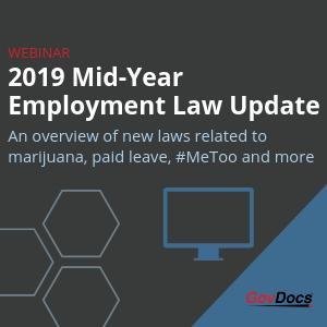 2019 Mid year employment law update Jana Bjorklund Webinar
