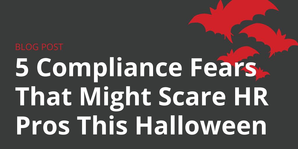 Halloween HR Compliance Fears Employment Law