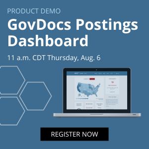 GovDocs Postings Demo