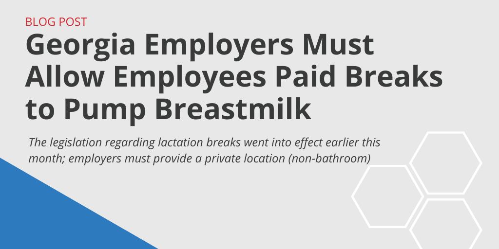 Georgia Breaks Breastmilk