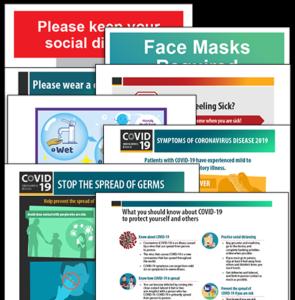 Coronavirus Poster Package