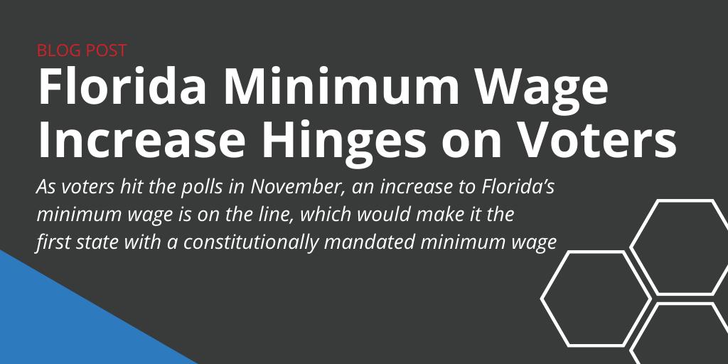 Florida Minimum Wage Ballot