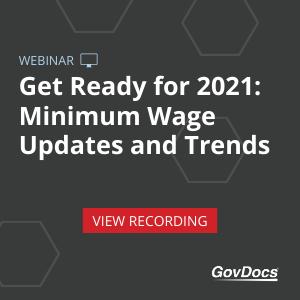 Minimum Wage Webinar 2021 Trends