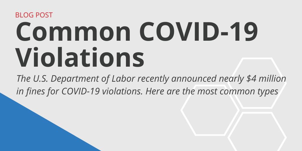 Common COVID-19 Violations