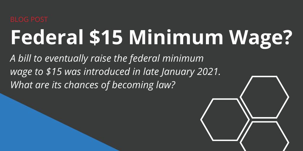 Federal $15 Minimum Wage