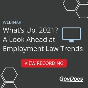Employment Law Webinar 2021