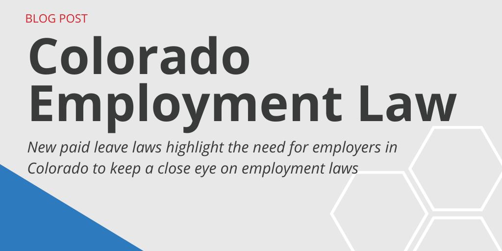 Colorado Employment Law