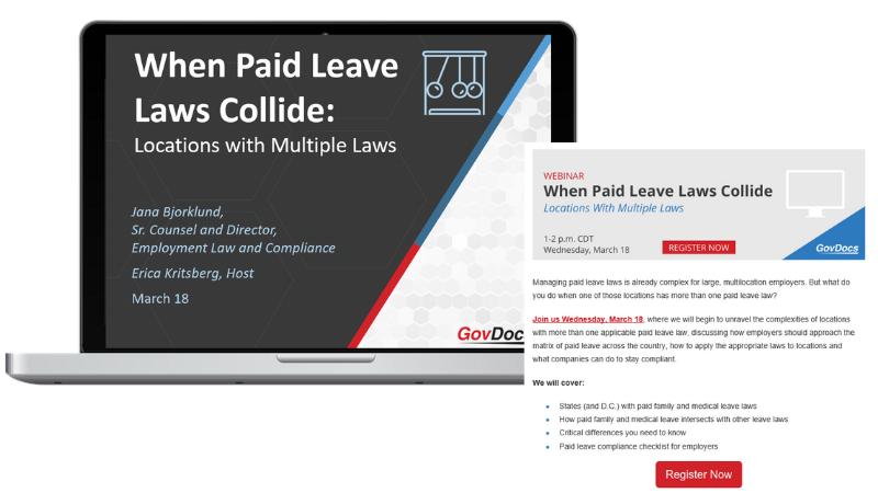 Employment Law Compliance Webinars