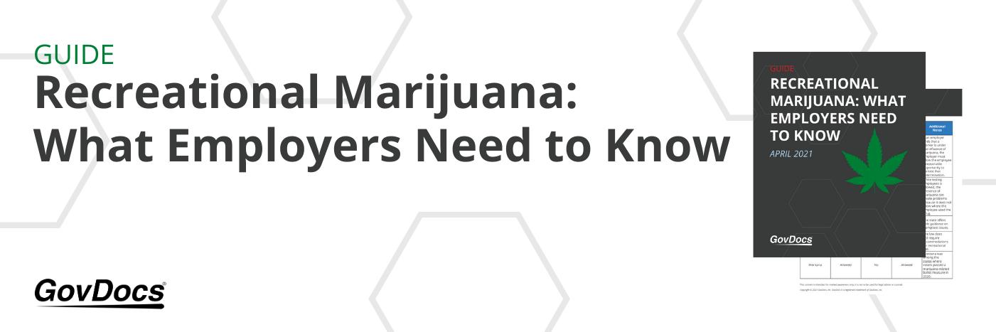 Marijuana Guide for Employers