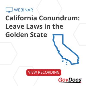 California Leave Laws Webinar