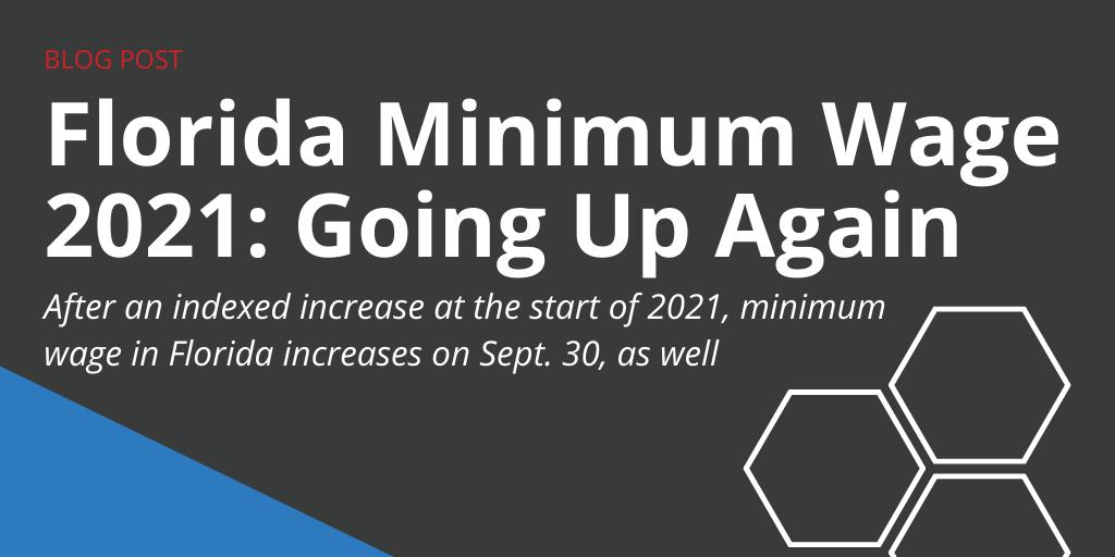 Florida Minimum Wage 2021